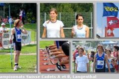 04.09.2005 - Championnats suisses cadets (Langenthal)