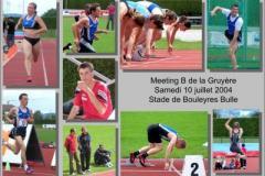 10.07.2004 - Meeting B de la Gruyère, Stade de Bouleyres Bulle