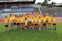11.07.2018 - Entraînement des jeunes avec les Stars d'Athletissima 2018