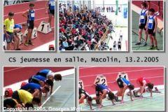 13.02.2005 - Championnats suisses jeunesse indoor (Macolin)
