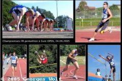 24.09.2005 - Championnats fribourgeois de pentathlon (Guin)