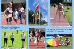 26.06.2004 - Championnat Régionaux Jeunesse Ouest 2004, Lausanne