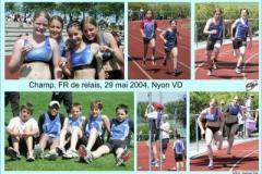 29.05.2004 - Champ. FR de relay, Nyon VD